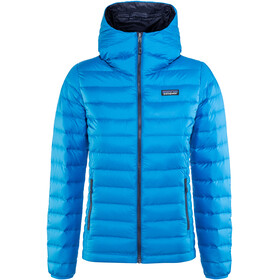 Patagonia Down Sweater Hoody Women lapiz blue